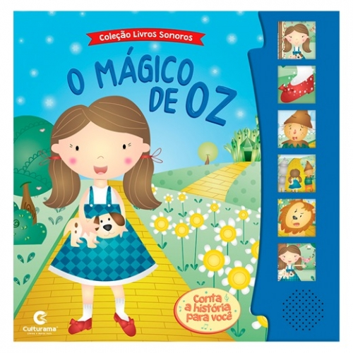 LIVRO SONORO - O MAGICO DE OZ