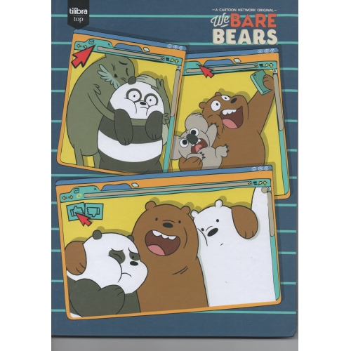 CADERNO BROCHURA CD 96FLS TILIBRA WE ARE BEARS