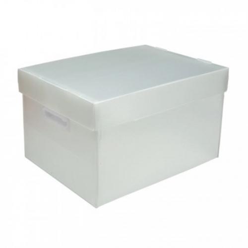 CAIXA ORGANIZADORA POLIBRAS BEST BOX G CRISTAL