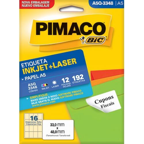 ETIQUETA A5 12FLS PIMACO A5Q-3348
