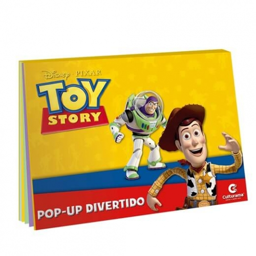 LIVRO POP-UP DISNEY - TOY STORY