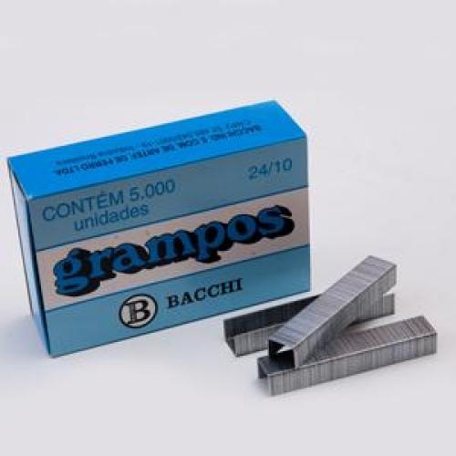 GRAMPO BACCHI 24/10 GALVANIZADO 5000UNDS