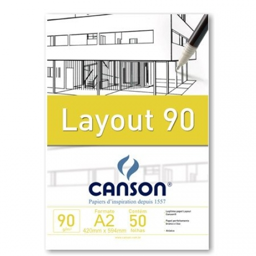 PAPEL LAYOUT A2 90G CANSON