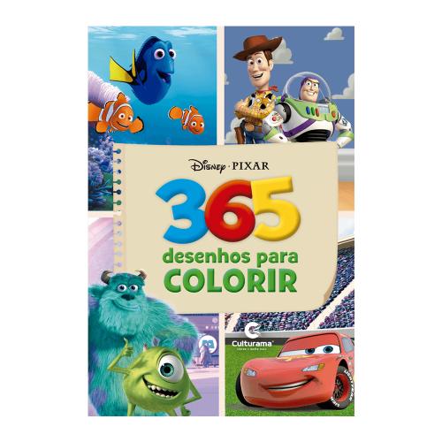 365 DESENHOS COLORIR - PIXAR