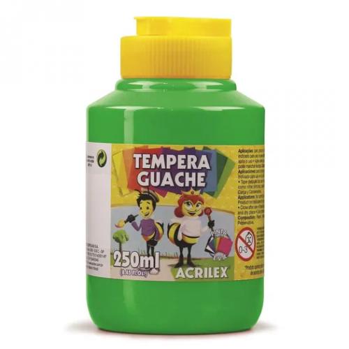 TINTA GUACHE ACRILEX 250ML VERDE FOLHA 510
