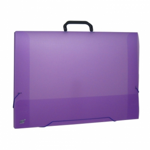 MALETA A3 YES COLOR GRID LILAS