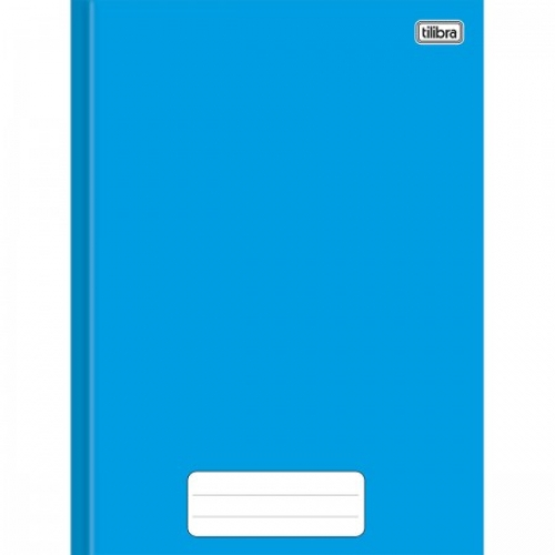 CADERNO BROCHURA 1/4 CD 80FLS TILIBRA PEPPER AZUL