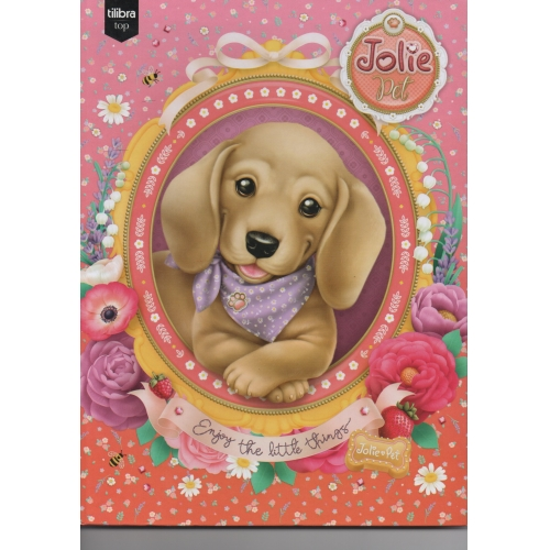 CADERNO BROCHURA CD 96FLS TILIBRA JOLIE PET