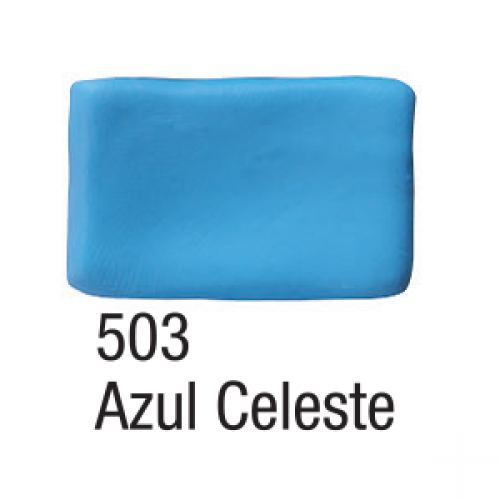 MASSA BISCUIT ACRILEX 90G AZUL CELESTE