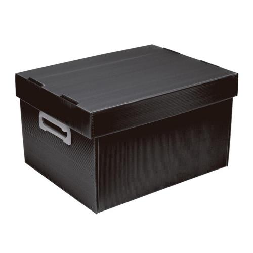 CAIXA ORGANIZADORA POLIBRAS BEST BOX P FOSCA PRETA