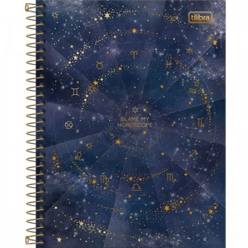 CADERNO COLEGIAL 01M CD TILIBRA MAGIC