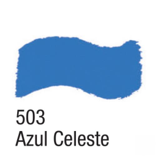 TINTA ACRILICA BRILHANTE ACRILEX 37ML AZUL CELESTE