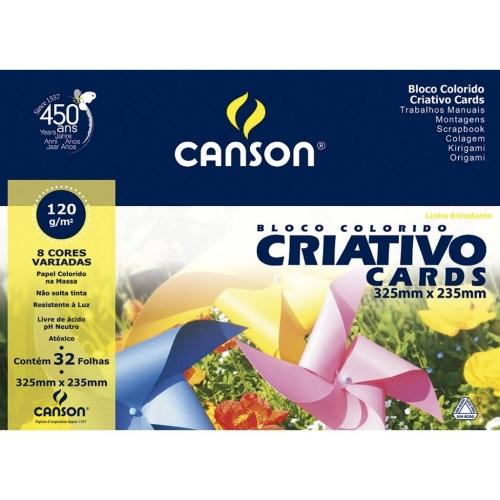 PAPEL CRIATIVO A4 120G 32FLS CANSON