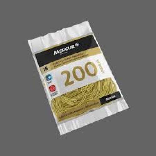 ELASTICO MERCUR SUPER AMARELO 18 200UNDS