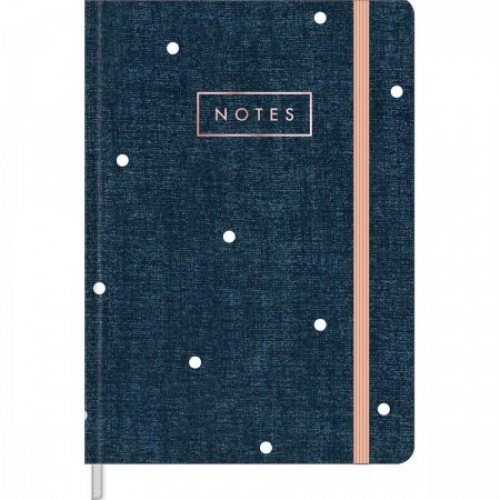 MOLESKINE MEDIO 80FLS TILIBRA CAMBRIDGE DENIM SEM PAUTA