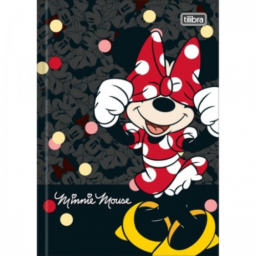 CADERNO BROCHURA 1/4 CD 80FLS TILIBRA MINNIE