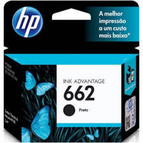 CARTUCHO HP 662 PRETO