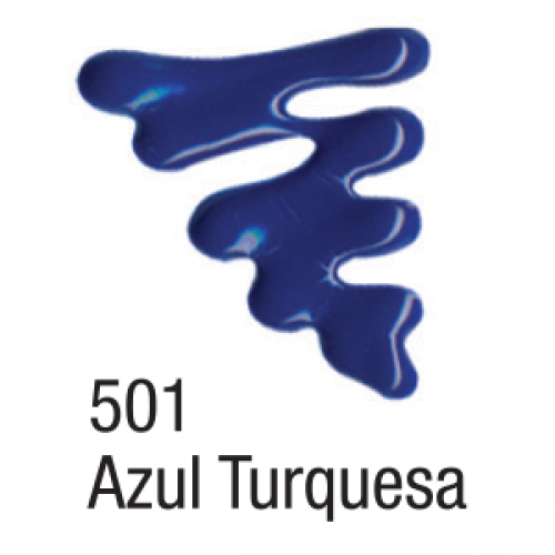 TINTA DIMENSIONAL ACRILEX 35ML AZUL TURQUESA