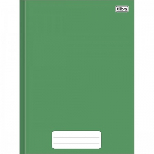 CADERNO BROCHURA 1/4 CD 80FLS TILIBRA PEPPER VERDE