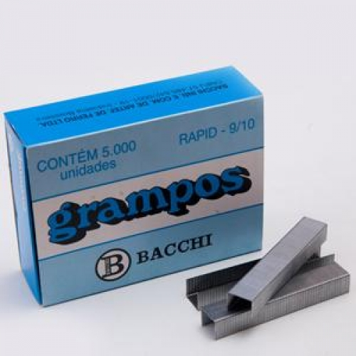 GRAMPO BACCHI 9/10 GALVANIZADO 5000UNDS