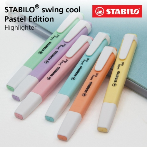 MARCA TEXTO STABILO SWING COOL 155 LILAS PASTEL