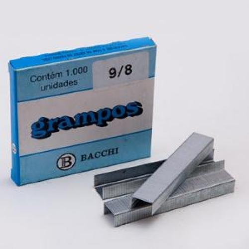 GRAMPO BACCHI 9/8 GALVANIZADO 1000UNDS