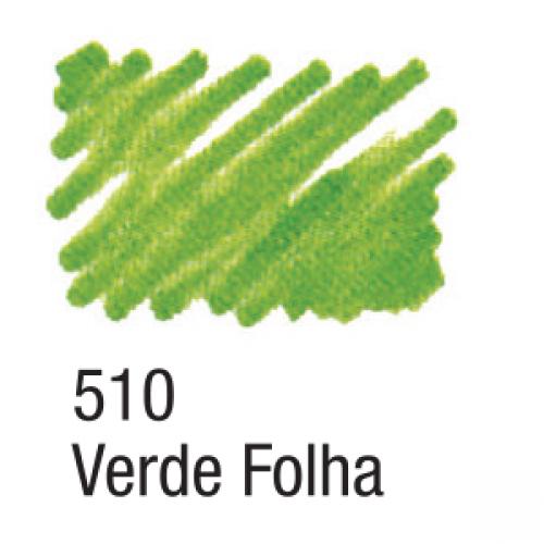 CANETA PARA TECIDO ACRILPEN ACRILEX VERDE FOLHA 510
