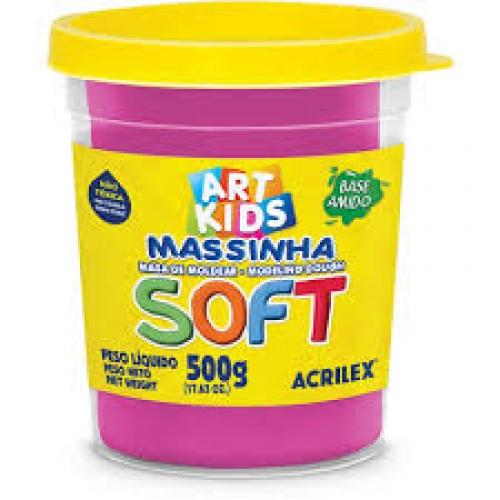 MASSINHA SOFT ACRILEX