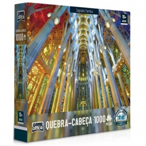 Quebra-Cabe�a Sagrada Fam�lia 1000 Pe�as - Game Office