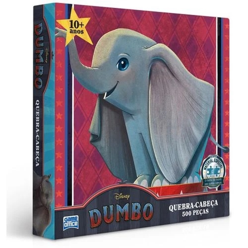 Quebra-Cabe�a Edi��o Especial Dumbo 500 Pe�as - Game Office
