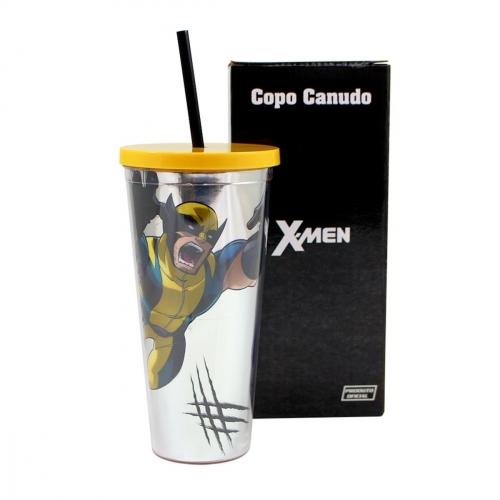 COPO CANUDO C|TEXTURA WOLWERINE METAL.