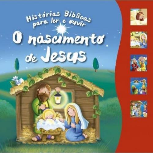 LIVRO SONORO 5 BOTOES O NASCIMENTO DE JESUS