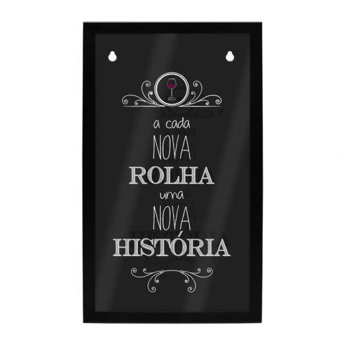 PORTA ROLHAS HISTORIA