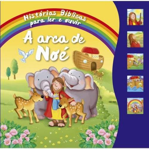 LIVRO SONORO 5 BOTOES A ARCA DE NOE