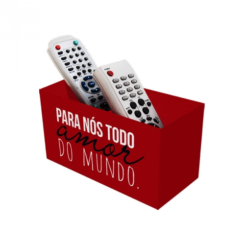 PORTA CONTROLE TODO AMOR DO MUNDO