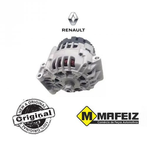 Alternador -Renault Logan / Sandero / Scenic / Megane - 439431